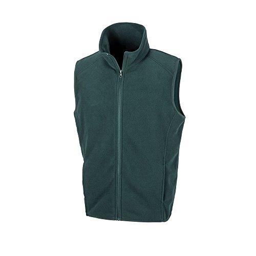 Result - Chaleco Polar para Hombre XL Verde