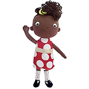 MerryMakers Ada Twist, Scientist Doll, 11-Inches - 416M1h1W4sL - MerryMakers Ada Twist, Scientist Doll, 11-Inches
