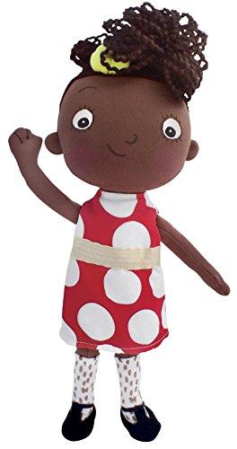 MerryMakers Ada Twist, Scientist Doll, 11-Inches