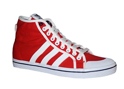 Adidas HONEY STRIPES MID W Rot Weiss Damen Sneakers Schuhe Neu