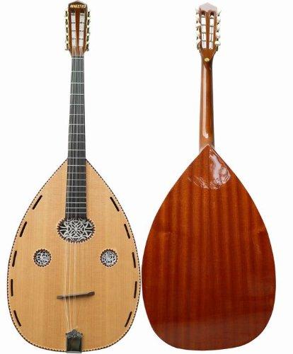 Laute, Oud, Ud, Cuatro Gitarre, 10 string Guitar - Fichte/Sapeli NEU
