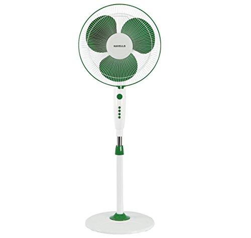 Havells Trendy 400mm Pedestal Fan (Green White)