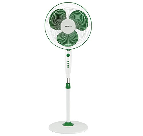 Havells Trendy 400mm Pedestal Fan (Green White)