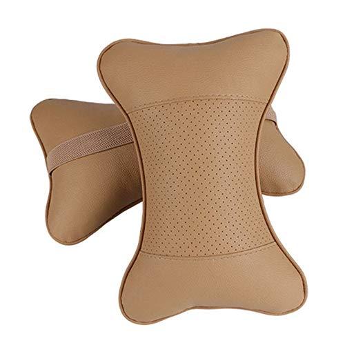Sun Can 2 PCS Protección de almohada de cuero artificial de cuero Su cuello / cazador de cuello de cazador de cazadores de excavación de agujeros / suministros automáticos Almohada de cuello de seguri