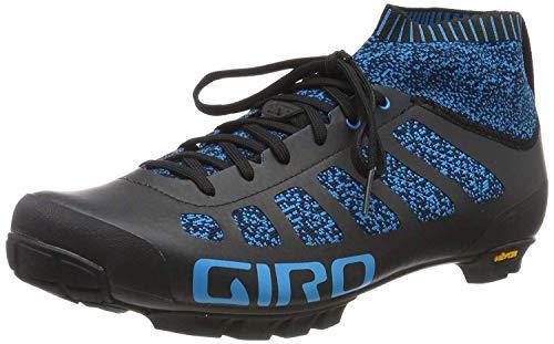 Giro Empire VR70 Knit Mens Mountain Cycling Shoe − 39.5, Midnight/Blue (2020)