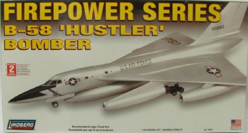 Lindberg Models Modèle Bomber Hustler LN70540 1:64 B-58