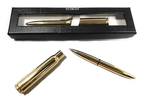 NITROcs Patronen Kugelschreiber - Bullet Pen - Munition Survival Notfall
