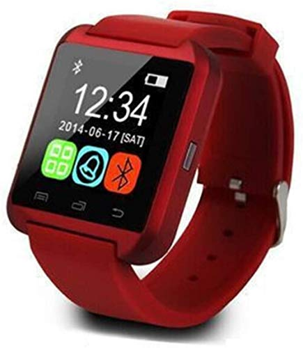 hwbq Reloj de pulsera inteligente con pantalla a color, Bluetooth, rastreador de actividad, podómetro, reloj de ejercicio de salud, IP6