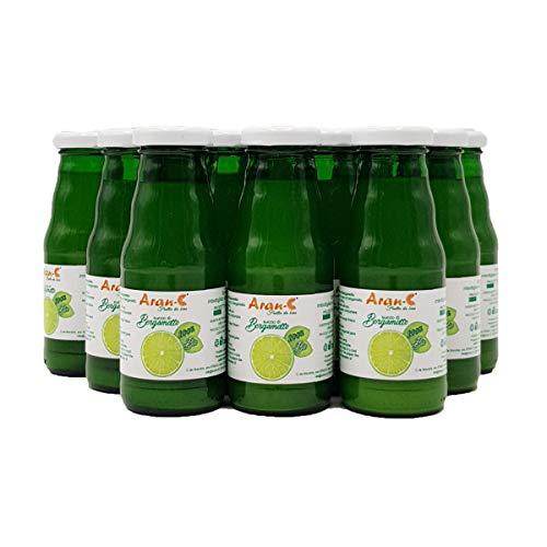 Kalabrischer Bergamottensaft BIO reines Saftgetränk ohne Zuckerzusatz ohne Konservierungsstoffe Italienischer Bergamottensaft (12 Flaschen 200 ml)