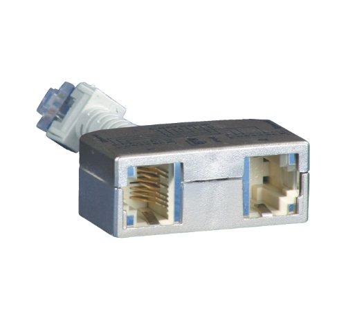 BTR Cable sharing Adapter pnp 3 2er Set Ethernet-Ethernet VE = 2 Ethernet-Ethernet