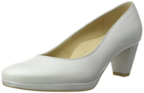 ara Toulouse-Plateau, Damen Pumps, Weiß (Offwhite), 7 UK