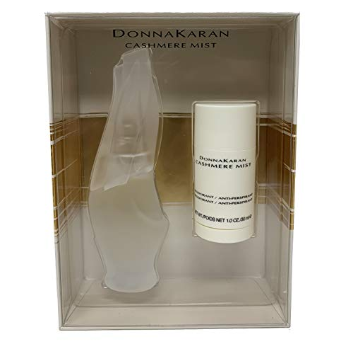 Donna Karan Cashmere Mist Duo (1.0 Ounce EDT Spray, 1.0 Ounce Deodorant Stick)