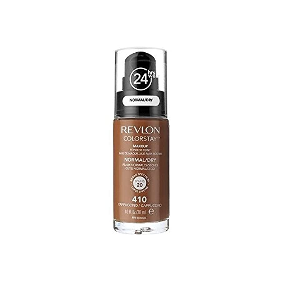 ペルセウスフェッチ牛肉Revlon Colorstay Foundation Normal Dry Skin Cappuccino - レブロンの基礎通常の乾燥肌のカプチーノ [並行輸入品]