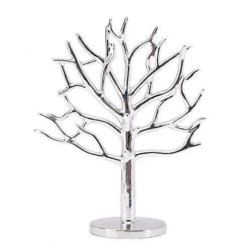 WANGXINQUAN Soporte de exhibición de joyería para pendientes creativos, decoración de resina, 24,7 x 10,3 x 29 cm