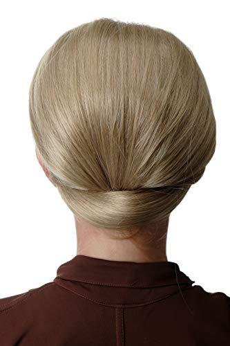 WIG ME UP - Q399BOBO-24 extension chignon très large mi-perruque tradition classique années 50 60 blond cendré
