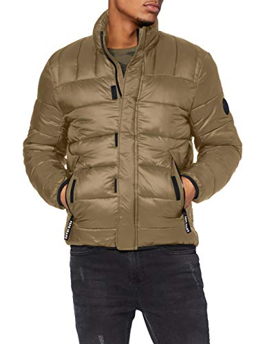 Pepe Jeans Coleridge Anorak, Marrón (720), Medium para Hombre