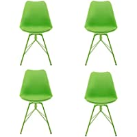 4-Pack Design Furniture Collection Modern Dining Chair