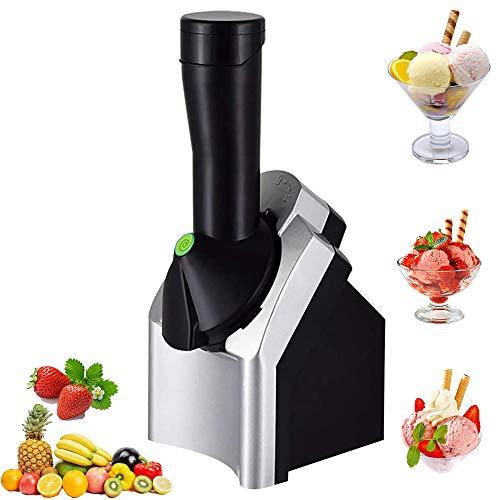 Eismaschine Softeismaschine füR Zuhause, Speiseeismaschine Elektronische Eismaschine, Frozen Yoghurt Maschine Eismaschine für Gefrorene Früchte Sorbet Maker, EU Plug
