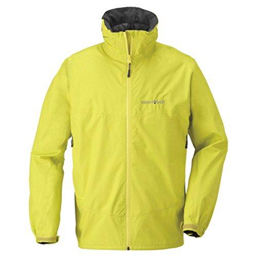 [モンベル] アウトドア 登山 ウインドジャケット防水透湿 レイントレッカー ジャケ 1128266 メンズ シトロンイエロー 日本 L-(日本サイズL相当)