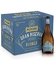 Birra Peroni Gran Riserva Bianca - Birra Italiana Premium - Cassa da 12 x 50 cl (6 litri)
