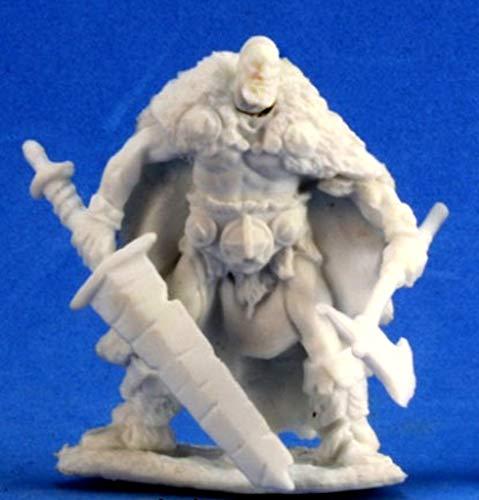 1 x THUND BLOODWRACK Barbare - Reaper Bones Figurine pour Jeux de Roles Plateau - 77199