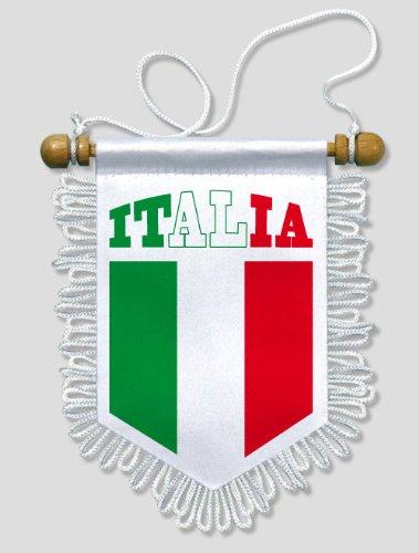 KOO Interactive - Italien - 13 x 15 cm - Auto Wand Fahne Flagge Wimpel