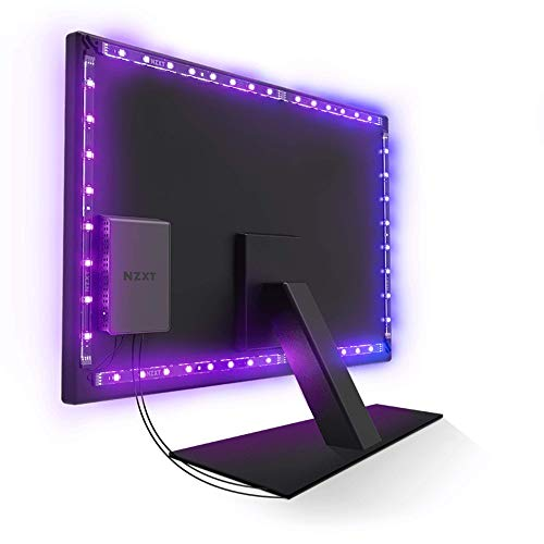Nzxt HUE 2 Ambient Universal Strip Light Interior LED 30 cm - Cinta Luminosa (Universal Strip Light, Interior, Ambiente, Negro, Multi, LED)