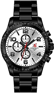 T5 Watch For Men [Stainless steel,Chronograph]-H3394G-D