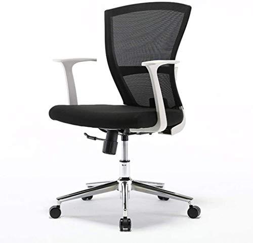 DALIBAI Rotating Lift Work Chair Armrests Mesh Desk Chair, Ergonomic Home Mesh Office Chair