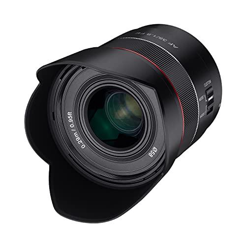 Objetivo Samyang AF 35mm. F1.8 Sony E