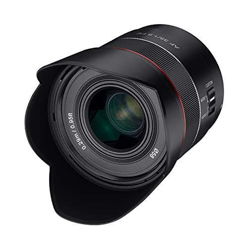 Objetivo Samyang AF 35mm....