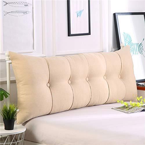 ZHZG Testata Cuscini Triangolo Cuscini di Base Soft Pack Grande Divano Posteriore dell'automobile Tatami Bed Schienale Estraibile e Lavabile (Color : F, Size : 180cm(70.86 Inches))