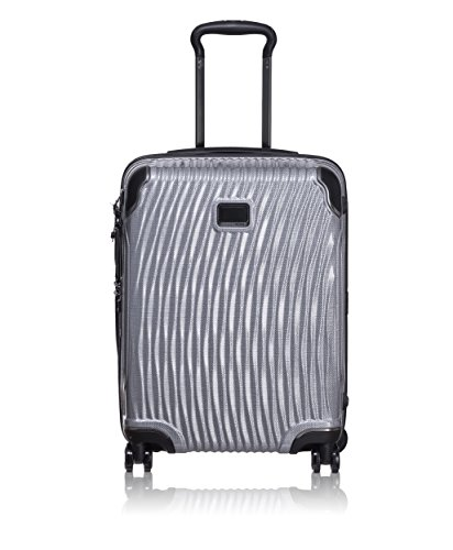 TUMI - Latitude International Slim Hardside Carry-On Luggage - 22 Inch Rolling Suitcase for Men and Women - Silver