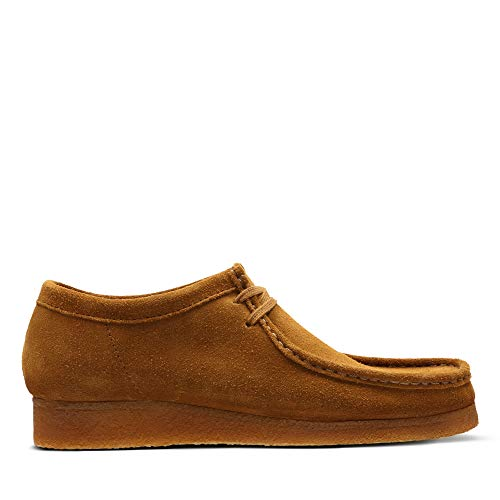 Clarks Originals Wallabee, Zapatos de Cordones Derby para Hombre, Marrón (Cola-), 42 EU