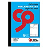 Cherry - Libros de orden de compra sin carbono NCR, A4, A5, duplicados, triplicados (A4, duplicado)
