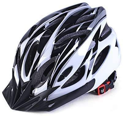 DesignSter Lightweight Helmet Road Bike Cycle Helmet Mens Women for Bike Riding Safety Adult(Fits Head Sizes 57-63cm) (Black)
