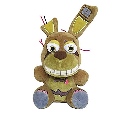 5 Nights at Freddy's plushies,Springtrap Plush Toy,Stuffed Animal Doll Children's Gifts