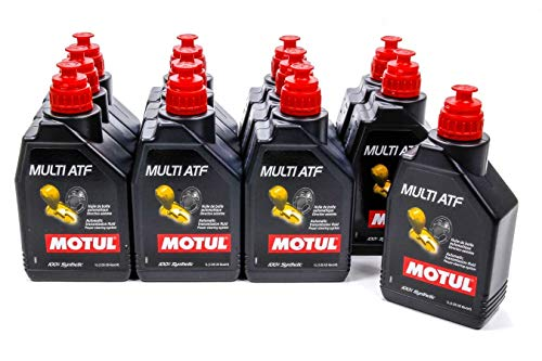 Motul 105784 Set of 12 Multi ATF Automatic Transmission Fluid 1-Liter Bottles