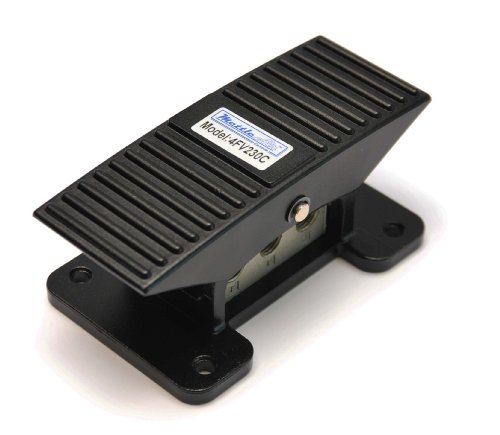 5 Way 3 Position Center Closed Pneumatic Foot Operated Pedal Valve 1/4' NPT Raise Lower Hold at Any Height Rocker Style