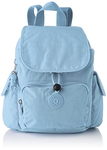 Kipling City Pack Mini, Mochilas de a Diario para Mujer, Niebla Azul, One Size