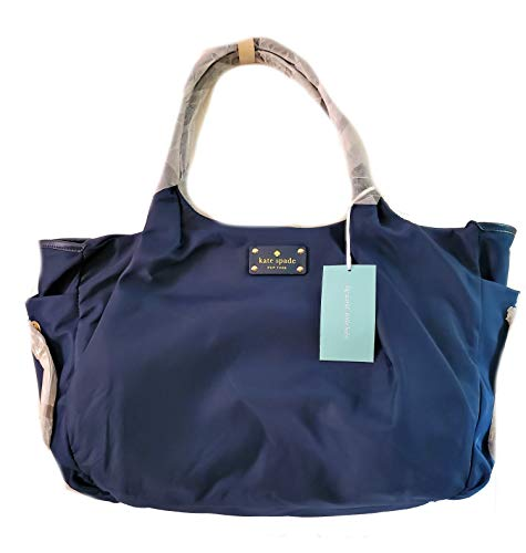 Kate Spade New York Union Square Stevie Baby Diaper Bag Navy