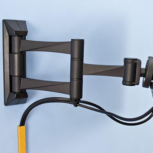 『テレビ 壁掛け 金具 STARPLATINUM 液晶 TV モニター 13-32インチ対応 TVセッターFS NA113 SSサイズ シルバー』の8枚目の画像