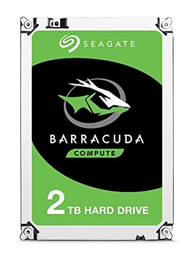 Seagate BarraCuda, 2 TB, Disco duro interno, HDD, 2,5' SATA 6 GB/s, 7200 RPM, caché de 64 MB para ordenador portátil y PC (ST2000DM006)