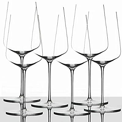 Zalto Denk'Art Universal Wine Glass, Luxury Crystal Glass for White Wine and Red Wine