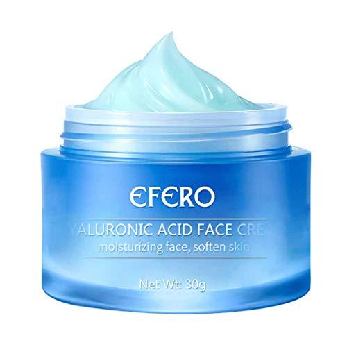 Brightening Facial Cream - Hyaluronic Acid Gel Cream Anti-Aging Wrinkle Face&Smooth Extra-Dry Skin 30 g