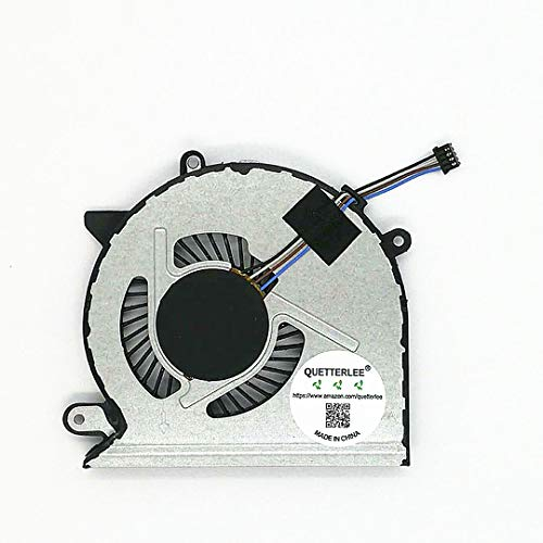 QUETTERLEE Replacement New CPU Cooling Fan for HP Pavilion 15-CD 15-cd027ax 15-cd028ax 15-cd029ax 15-cd073tx 15-cd075tx 15-cd040wm 17-AR 17-AR007CA 17-AR050WM TPN-Q190 TPN-Q192 Series 926845-001 Fan