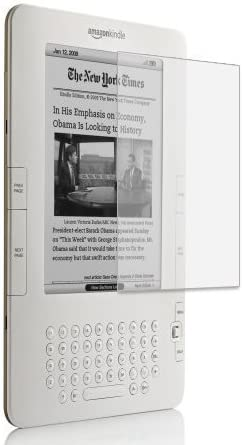 (2 Packs) Clear LCD Screen Protector for Amazon Kindle 2 E-Book Reader