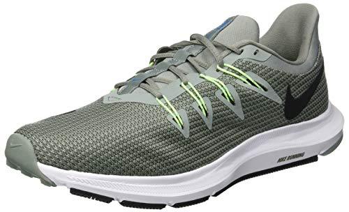 Nike Herren Quest Fitnessschuhe, Mehrfarbig (Mica Green/Black/Twilight Marsh 300), 44 EU
