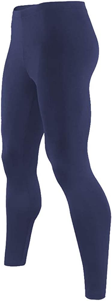 9M Mens Ultra Soft Thermal Underwear Leggings Bottoms - Compression Pants with Fleece Lined