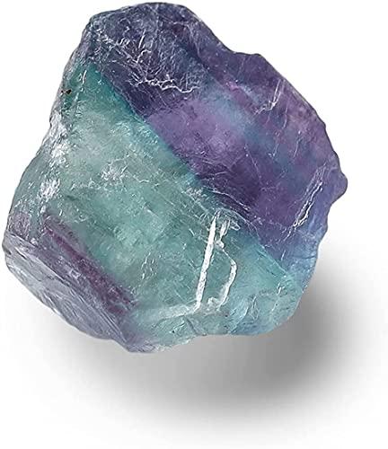 Cristal Curativo Piedras Preciosas Cristal de cuarzo Tratamiento curativo de piedra Terapia de cristal de piedra Fluorita Mineral Colorido Cristal de fluorita natural LIOYUHGTFY 919(Color:5pcs Random)